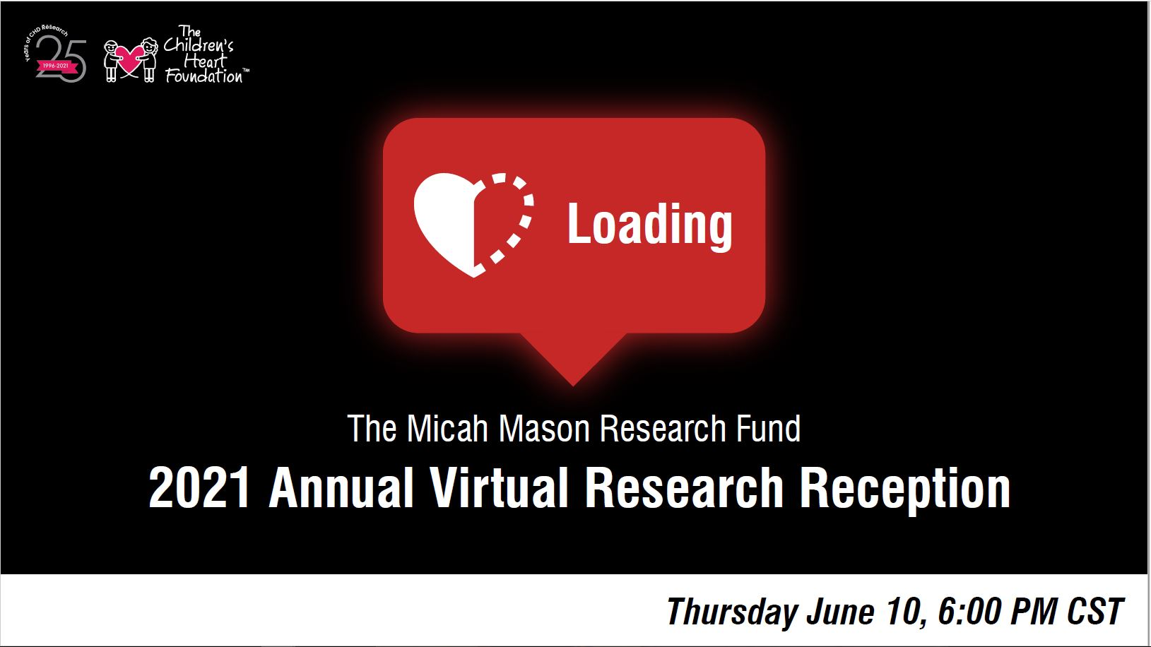 MMF Research Reception Announcement